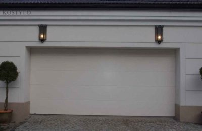 Stylish garage lamps